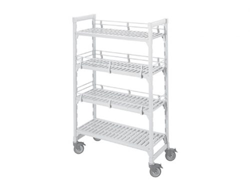 "CAMBRO 4-Shelve Vented Mobile Unit (67"" Height)"