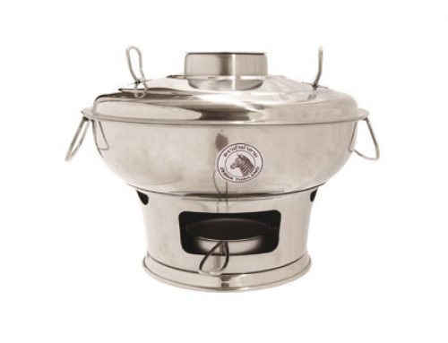 ZEBRA Stainless Steel Mongolian Pot