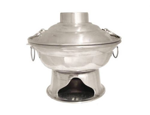 YI TOH LOO Aluminium Charcoal Steamboat (Fixed)