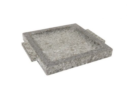 STONE LEE Stone Rectangle Plate for Warmer