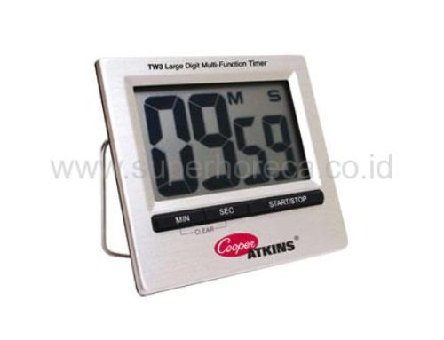 COOPER ATKINS Waterproof Digital Timer with Large LCD