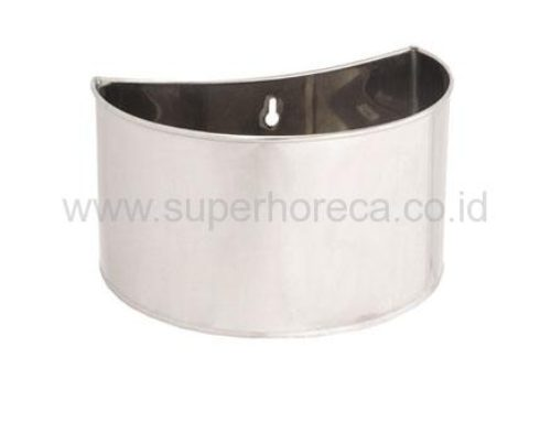 CCK S/S Crescent Shape Chopping Board Container